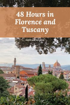 How to spend 48 Hours in Florence and Tuscany, including visiting Michelangelo's David, Piazzale Michelangelo, and several medieval Tuscan towns. Italy Travel Tips, Europe Travel Guide, Italy Destinations, Things To Do In Italy, Cities In Italy, Visit Italy, France, European Travel, Where To Go