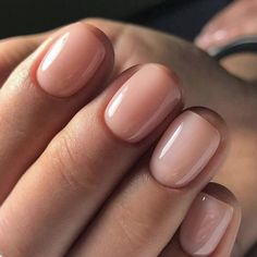 natural nails The Best Nude Nail Polishes For Every Skin Tone, As Told By Celeb Manicurists Neutral Nails, Nude Nails, Pink Nails, Acrylic Nails, Color Nails, Coffin Nails, Blush Nails, White Nails, Natural Nail Polish Color