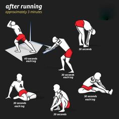 quick after running stretches for when i can't do yoga After Running, Running Tips, Running Training, Running Workouts, Beginner Running Plans, Running Photos, Start Running, Training Plan, Running Motivation