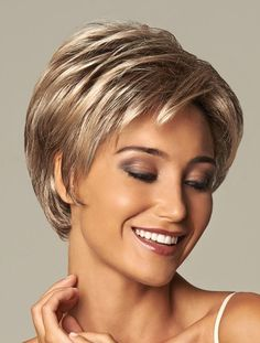 Gorgeous Blonde Wavy Short Synthetic Wigs, Synthetic Hair Comb
