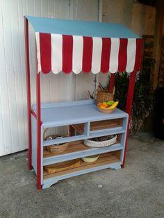 My take on DIY pretend market stall