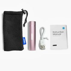 United States of Motherhood: Stocking Stuffer Ideas for Women: Pink, Lipstick-sized Cell Phone Charger