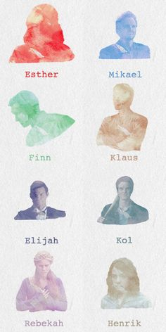 Mikaelson Family - The Vampire Diaries