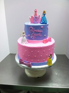 Princess cake by Chinell PalmerJones Pinterest Princess Cake