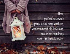Gebed ~ Wachten