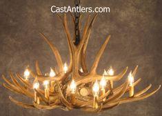 Mule Deer 9 Cast Antler Chandelier - Measures 36 wide and 20 tall, weighs just 9 lbs.Mule Deer 9 Cast Antler Chandelier - Made in the USA, measures 36 wide and 20 tall, weighs just 9 lbs.Mule Deer 9 Cast Antler Chandelier - Beware of S Deer Antler Chandelier, Rustic Chandelier, Rustic Lamps, Chandeliers, Rustic Decor, Rustic Style, Cabin Lighting, Rustic Lighting, Cottage Lighting