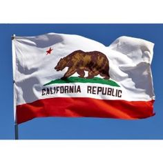 Amazon.com: Allied Flag Outdoor Nylon State Flag, California, 3-Foot by 5-Foot: Patio, Lawn & Garden