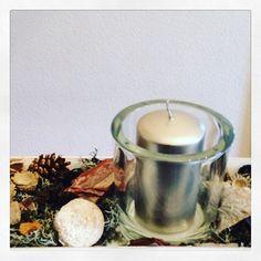 Es wird weihnachtlich bei mir im Büro im UNIT Yoga in #wiesbaden #gemütlich #unityoga #kuschelig #kerze #advent