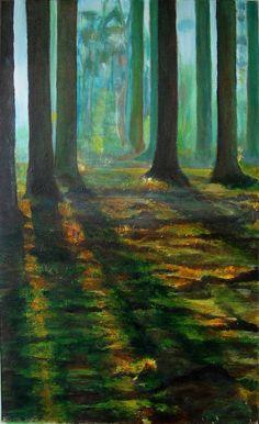 Marieke; painting artist at Art Studio Moes Forrest