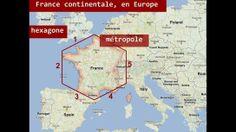 Le territoire français: la France d'aujourd'hui - Métropole et outre-mer - YouTube