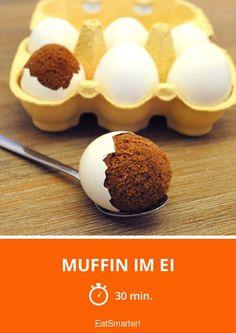 So kommt der Muffin ins Ei