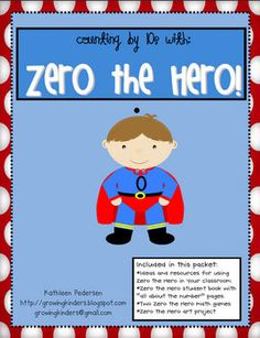 Does Zero the Hero visit your classroom every 10 days--I Love Zero the Hero!!!  Must have this!!