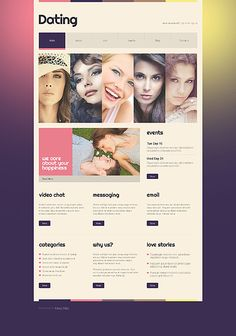 Astrology Responsive Website Template | Website