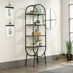 Boulevard Café Open Shelving - 28W x 13D x 52H - 8827703 | OfficeFurniture.com