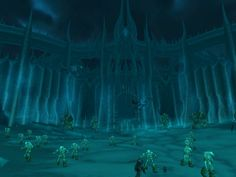 the gates leading into Icecrown, the undead-ridden land of the Lich King