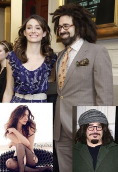 Love is Blind Celebrities (26 of 37): Adam Duritz and Emmy Rossum