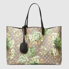 Gucci Women - Reversible GG Blooms leather tote - 368571CU71X8966