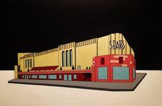 Sears on Main Street - Acrylic on Canvas
