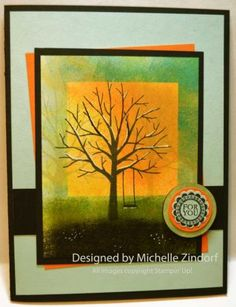 Sheltering Tree – Stampin' Up! Card