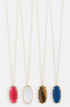 Kendra Scott 'Elle' Pendant Necklace available at #Nordstrom