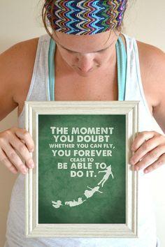 Peter Pan Nursery Quote