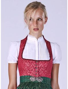 Gottseidank Dirndlbluse hochgeschlossen in Weiß Black And Blonde, German Women, Medieval Dress, Historical Costume, Fashion Lookbook, Traditional Dresses, Elegant, Style Inspiration, Clothes For Women