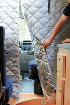If you enjoy some of the comforts of home while exploring the great outdoors, camper vans offer an economical and dependable way to be comfortable and reach your destination with ease. Whether new or used, Class B camper vans are… Continue Reading → Camping Car Sprinter, Sprinter Camper, Sprinter Van Conversion, Camper Van Conversion Diy, Ford Transit Conversion, Cargo Van Conversion, Rideaux Camping-car, Astuces Camping-car, Ducato Camper