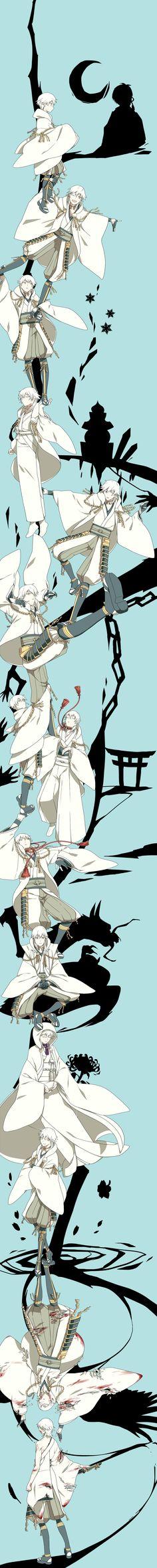 Tsurumaru Kuninaga/#1842750 - Zerochan touken ranbu 刀剣乱舞