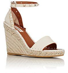 d093aa55d52 Valentino Rockstud Espadrille Wedge Sandals - Espadrilles - Barneys.com Got  them! Valentino Wedges