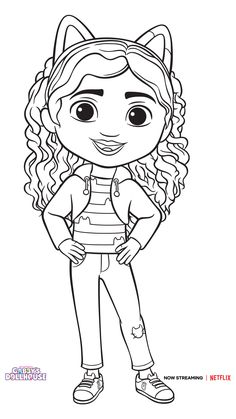 Coloring Books, House Colouring Pages, Coloring Pages For Girls, Girls 3rd Birthday, Cat Birthday, 4th Birthday Parties, Baby Girl Toys, Toys For Girls, Party Cartoon