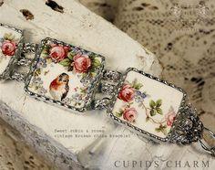 Vintage Broken China Bracelets