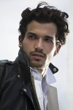 So, yeah. This guy looks like how Lucien looks in my mind. He's a little thinner than Lucien and has a nose ring, but basically perfect. His name is Paul Kelly, and he's a model. And jaw-droppingly gorgeous. --Elisa Braden