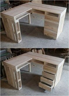 Attractive Wood Pallet Recycling Ideas: Observe on the display beneath and you will discover numerous thoughts of pallet furniture. Here are some wooden pallet reusing thoughts for all. Wood Pallet Recycling, Wooden Pallet Projects, Wooden Pallet Furniture, Recycled Pallets, Wooden Pallets, Diy Furniture, Pallet Wood, Pallet Walls, Diy Projects