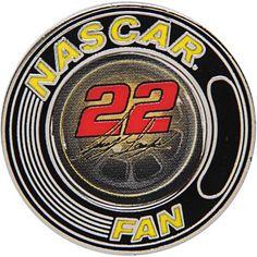 Joey Logano WinCraft NASCAR Collector Pin - $6.99