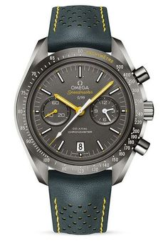 Porsche Club of America Omega Speedmaster Grey Side of the Moon #BestMensWatches