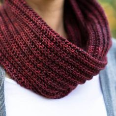 Handmade Knitted Cowl
