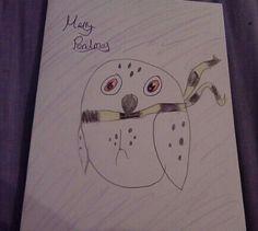 Hufflepuff owl
