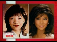 Julie Chen got plastic surgery to appear less Chinese