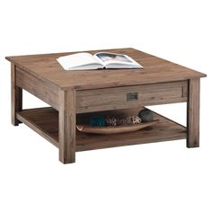 Inspired by the honest, straightforward forms of Shaker design, the Brooklyn + Max Sullivan Square Coffee Table adds a classic touch to any. Pallet Dining Table, Diy Outdoor Table, Diy Coffee Table, Coffee Table Design, Diy Table, Solid Wood Furniture, New Furniture, Table Furniture, Pallet Wall Shelves