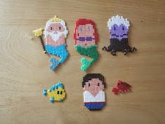 and more: Nana beads disney Felt creations . and more: Nana beads disney Hama Disney, Hama Beads Disney, Perler Bead Templates, Diy Perler Beads, Perler Bead Art, Pearler Beads, Fuse Beads, Pearler Bead Patterns, Perler Patterns