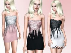 Alice Formal Dress by Altea127 at A e B Sims 3 - Sims 3 Finds