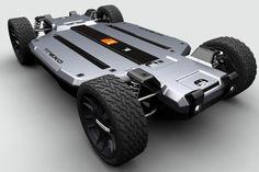 Trexa EV — это практичная, мобильная и функциональная платформа для самостоятельного создания индивидуального электромобиля. Производитель предлагает три типа шасси, отличающиеся между собой длиной колесной базы (1625, 2032 и 2438 миллиметров), а также энергоемкостью литий-железо-фосфатных аккумуляторов (от 7 до 24 кВт*ч). Покупая эту платформу, потребитель сам выбирает, каким будет его электромобиль: пикап, хетчбэк, минивэн или даже малогабаритный грузовик, с запасом хода от 40 до 200