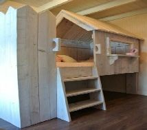 Rustic Range - Bespoke by Baker - The home of handmade childrens theme beds & playhouses