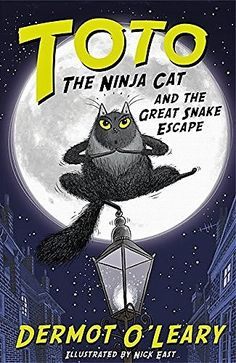 Here's a wonderful children's book by TV present Dermot O'Leary. #cat #books #dermotoleary