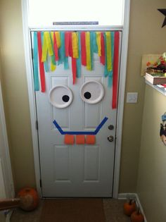 Silly monster door