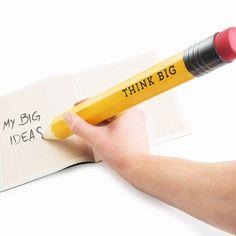 Dieser Bleistift hält bestimmt das ganze Schuljahr! ;)