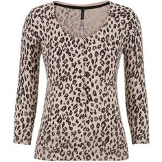maurices The Classic Cardi In Animal Print ($34) ❤ liked on Polyvore