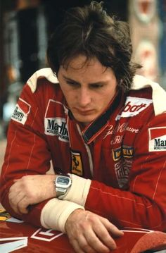 Gilles Villeneuve... ...lots of favorites but..I think this guy is the most exciting driver I've ever seen.