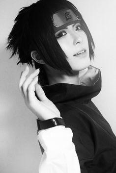 Kanda as Sasuke Uchiha (Naruto)
