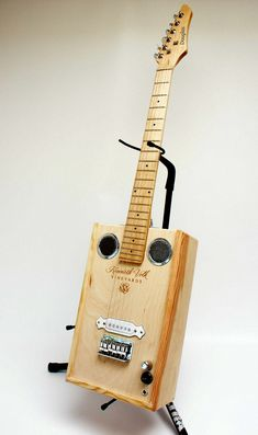 """Wine-box guitar."""
